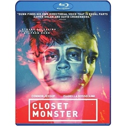 Closet Monster Blu-ray Cover