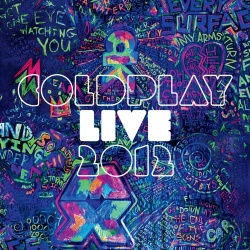 Coldplay: Live 2012 Blu-ray Cover