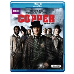 Copper: Season 2 Blu-ray Cover