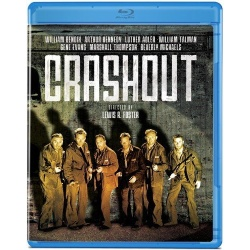 Crashout Blu-ray Cover