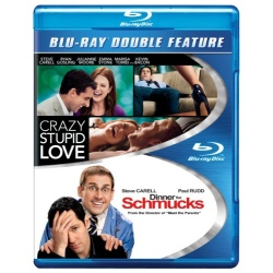 Crazy, Stupid, Love / Dinner for Schmucks Blu-ray Cover