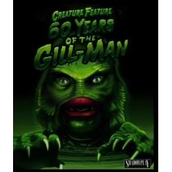 Creature Feature: 60 Years of the Gill-Man Blu-ray Cover
