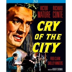 Cry of the City Blu-ray Cover