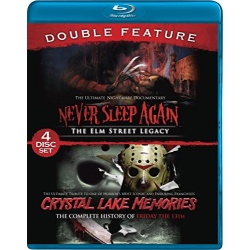 Crystal Lake Memories / Never Sleep Again Blu-ray Cover