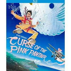 Curse of the Pink Panther Blu-ray Cover