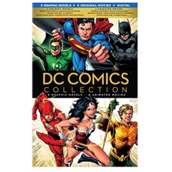 DC Comics Colleciton Blu-ray Cover