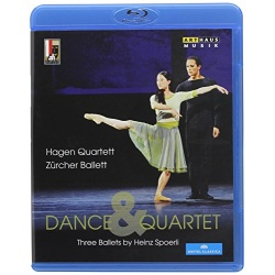 Dance & Quartet: Three Ballets by Heinz Spoerli Blu-ray Cover