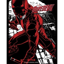 Daredevil: The Complete 2nd Season Blu-ray Cover