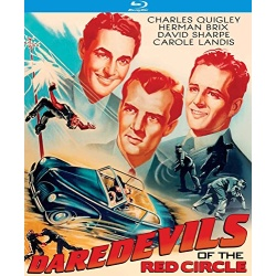 Daredevils of the Red Circle Blu-ray Cover