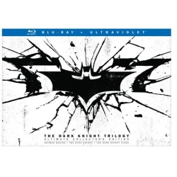Dark Knight Trilogy (Ultimate Collector's Edition) Blu-ray Cover