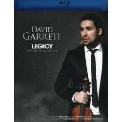 David Garrett: Legacy - Live in Baden-Baden Blu-ray Cover