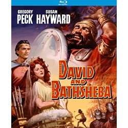 David and Bathsheba Blu-ray Cover