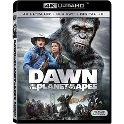 Dawn of the Planet of the Apes Blu-ray Cover