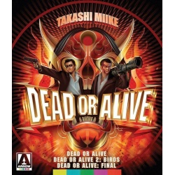 Dead or Alive Trilogy Blu-ray Cover