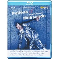 Debussy: Pelleas et Melisande Blu-ray Cover