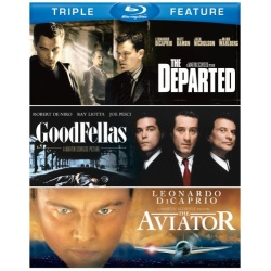 Departed / Goodfellas / The Aviator Blu-ray Cover