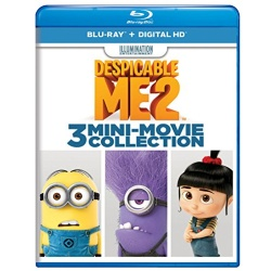 Despicable Me 2: 3 Mini-Movie Collection Blu-ray Cover