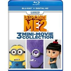 Despicable Me 2: 3 Mini-Movie Collection Blu-ray Cover