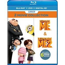 Despicable Me: 2-Movie Collection Blu-ray Cover