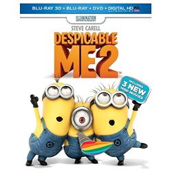 Despicable Me 2 Blu-ray Cover