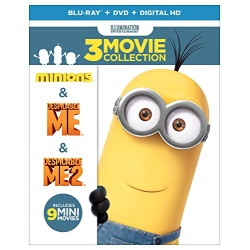 Despicable Me: 3 Movie Collection Blu-ray Cover