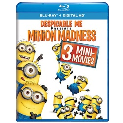 Despicable Me: Minion Madness Blu-ray Cover