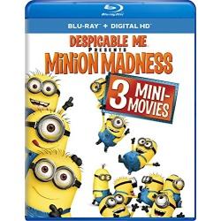 Despicable Me: Minion Madness Blu-ray Cover
