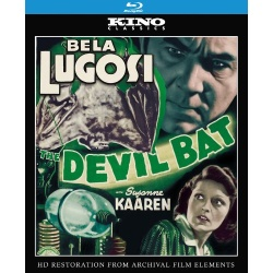 Devil Bat Blu-ray Cover