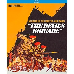 Devil's Brigade Blu-ray Cover