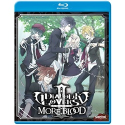Diabolik Lovers II: More, Blood Blu-ray Cover