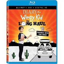 Diary of a Wimpy Kid: The Long Haul Blu-ray Cover