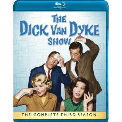 Dick Van Dyke Show: The Complete 3rd Season Blu-ray Cover