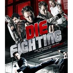 Die Fighting Blu-ray Cover