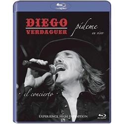 Diego Verdaguer: Pideme En Vivo Blu-ray Cover