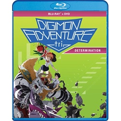 Digimon Adventure Tri.: Determination Blu-ray Cover