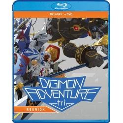 Digimon Adventure Tri: Reunion Blu-ray Cover