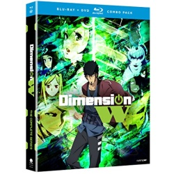Dimension W Blu-ray Cover