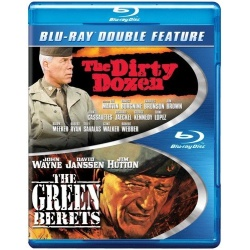 Dirty Dozen / The Green Berets Blu-ray Cover