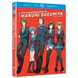 Disappearance of Haruhi Suzumiya Blu-ray Cover