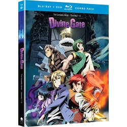 Divine Gate: The Complete Series Blu-ray Cover