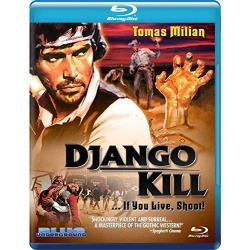 Django Kill... If You Live, Shoot! Blu-ray Cover
