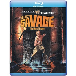 Doc Savage: The Man of Bronze Blu-ray Cover