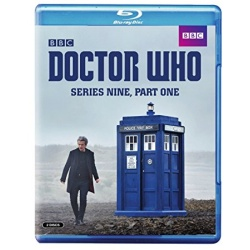 Doctor Who: Series Nine - Part One Blu-ray Cover