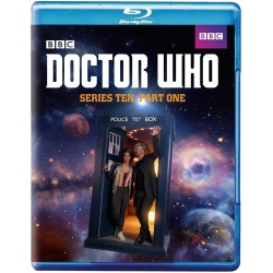 Doctor Who: Series 10 - Part 1 Blu-ray Cover
