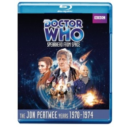 Doctor Who: Spearhead from Space Blu-ray Cover