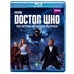 Doctor Who: The Return of Doctor Mysterio Blu-ray Cover