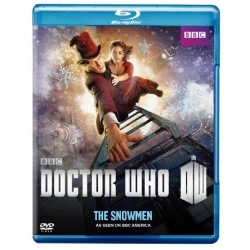 Doctor Who: The Snowmen Blu-ray Cover