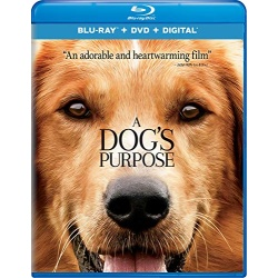 Dog's Purpose Blu-ray Cover