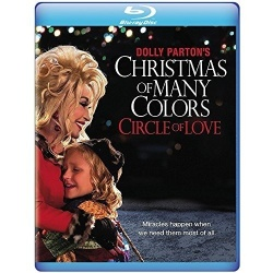 Dolly Parton's Christmas of Many Colors: Circle of Love Blu-ray Cover