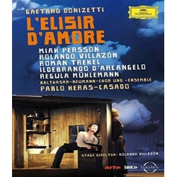 Donizetti: L'elisir d'amore Blu-ray Cover